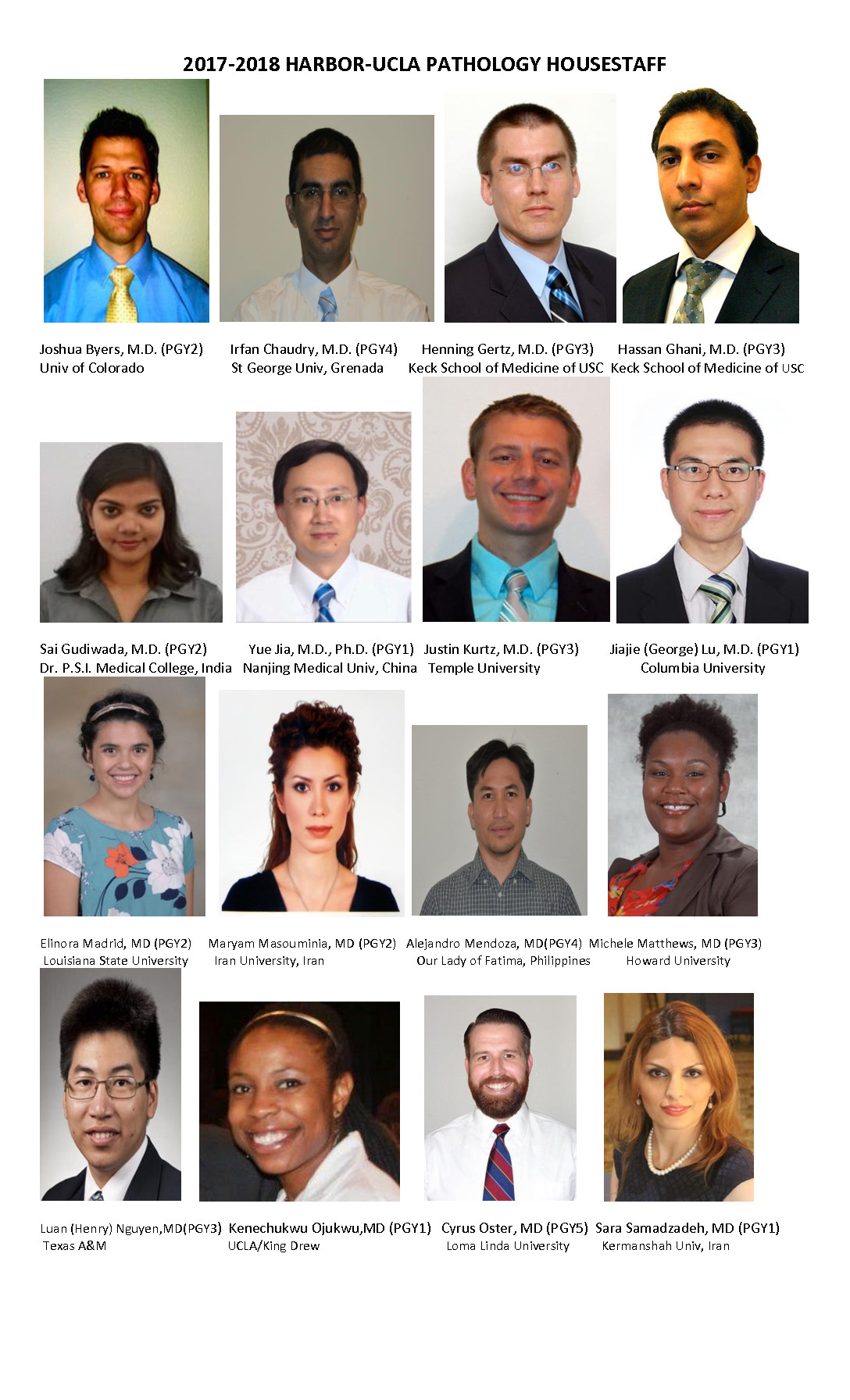Program Goals - Harbor-UCLA Medical Center